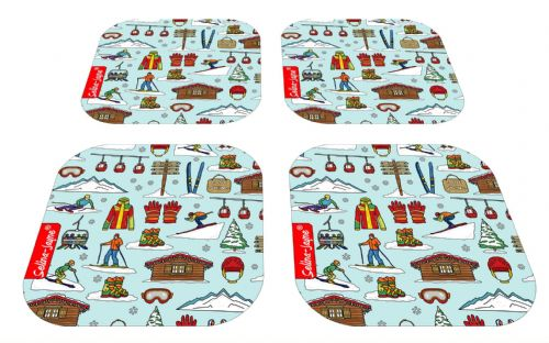 Selina-Jayne Skiing Limited Edition Designer Coaster Gift Set
